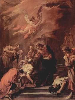 Sebastiano Ricci: Komunia apostołów