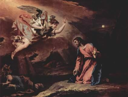 Sebastiano Ricci: Jezus na Górze Oliwnej