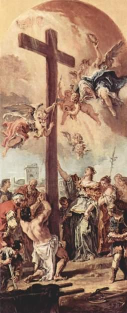 Sebastiano Ricci: Św. Helena odnajdująca krzyż