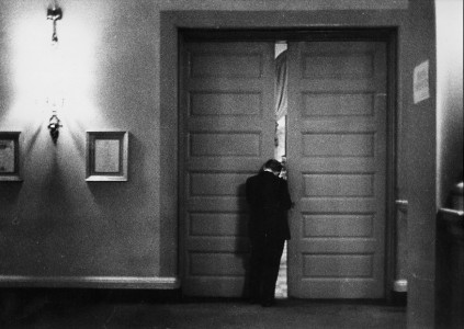 Robert Frank: Man Doorway