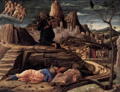 Andrea Mantegna: Agonia w Getsemani