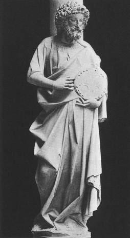 Apostoł, Sainte Chapelle, Paryż