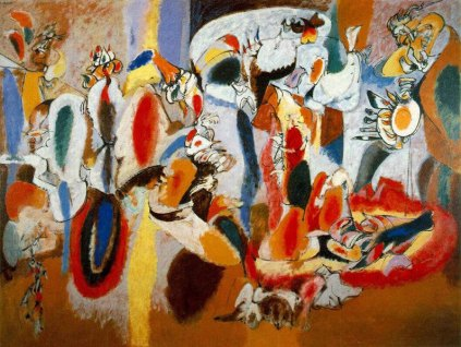 Arshile Gorky: The Liver is the Cocks Comb