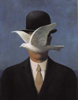 René Magritte: Człowiek w kapeluszu