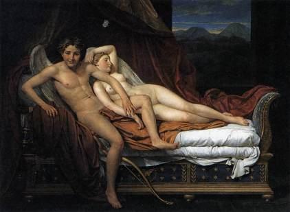 Jacques Louis David: Kupidyn i Psyche
