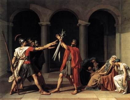 Jacques Louis David: Przysięga Horacjuszów