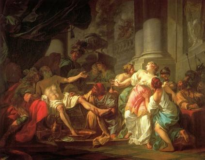 Jacques Louis David: Śmierć Seneki