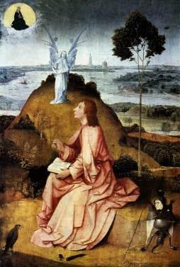 Hieronymus Bosch: Św. Jan Ewangelista na Patmos
