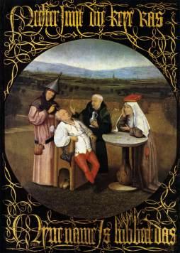 Hieronymus Bosch: Leczenie głupoty