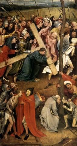 Hieronymus Bosch: Niesienie krzyża