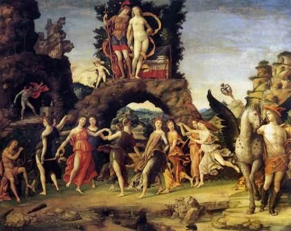 Andrea Mantegna: Parnas