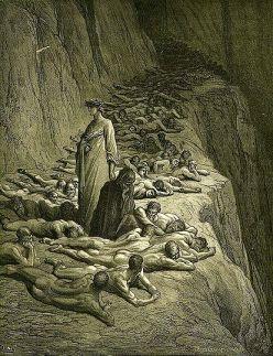 Gustaw Doré: Czyściec (XIX)