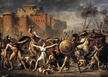 Jacques Louis David: Wojna Sabinek