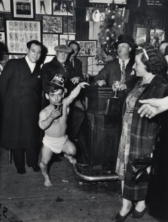 Weegee: New Year's Eve at Sammy's-on -the-Bowery