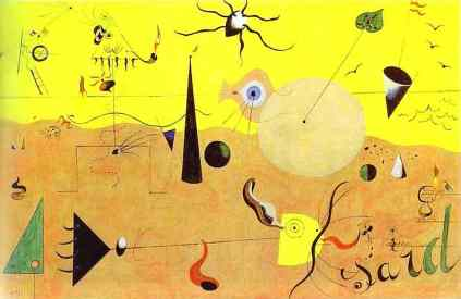 Joan Miro: Łowca