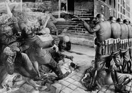 Otto Dix: Walki uliczne