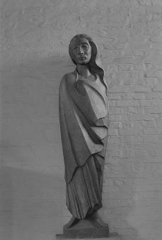 Ernst Barlach: Długowłosa