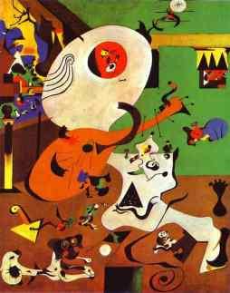 Joan Miro: Holenderskie wnętrze