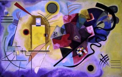 Wassily Kandinsky: Żółcień-czerwień-błękit