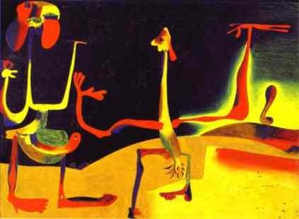 Joan Miro: Kobieta i mężczyzna