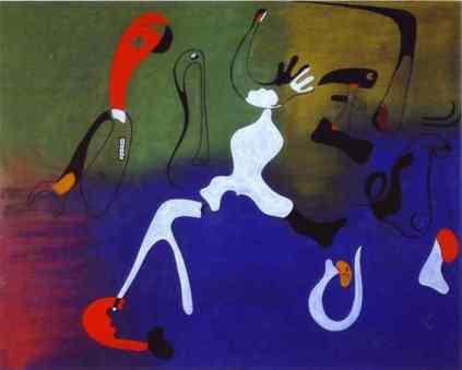 Joan Miro: Kompozycja