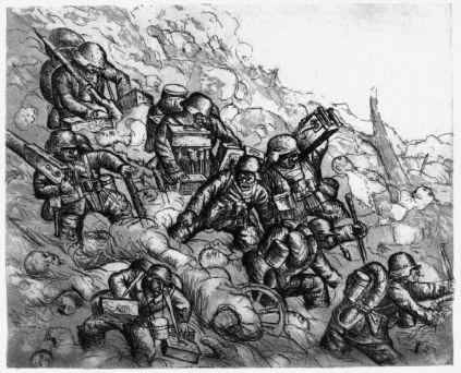 Otto Dix: Karabin maszynowy