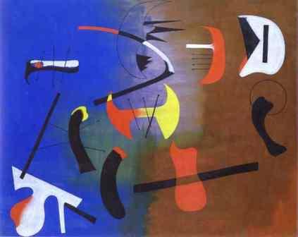 Joan Miro: Obraz