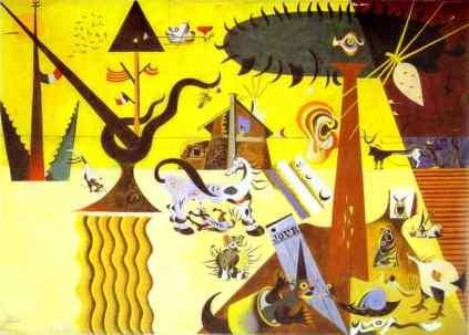 Joan Miro: Pełne pole