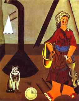 Joan Miro: Żona farmera
