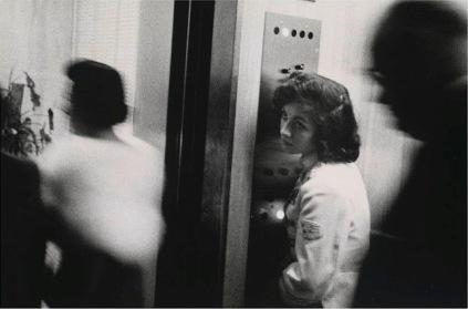 Robert Frank: Elevator, Miami Beach 1955