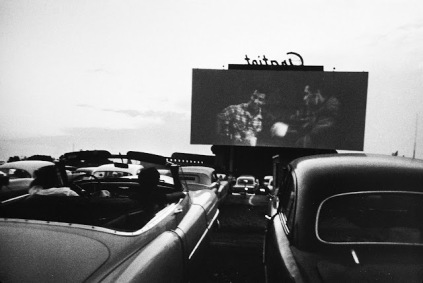 Robert Frank: Drive-in-movie, Detroit 1955