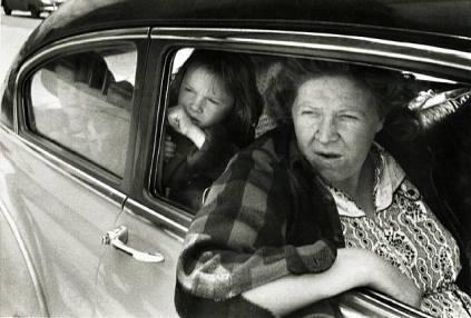 Robert Frank: Woman in car