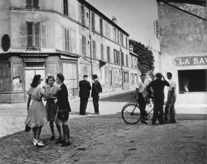 Robert Doisneau: Niedzielny ranek