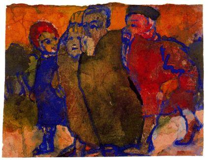 Emil Nolde: Grupa ludzi