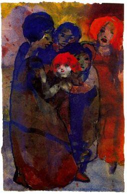Emil Nolde: Grupa z dziećmi