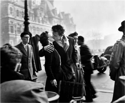 Robert Doisneau: Pocałunek