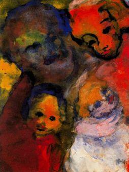 Emil Nolde: Rodzina z dziećmi