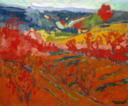 Maurice de Vlaminck: Pejzaż jesienny