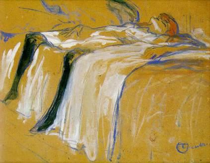 Henri de Toulouse-Lautrec: Samotna