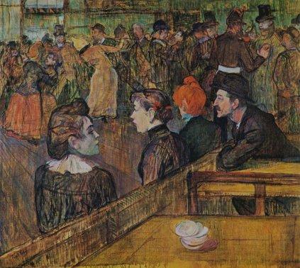 Henri de Toulouse-Lautrec: Bal w Moulin de la Galette
