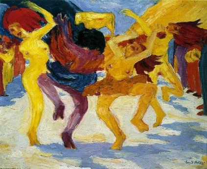 Emil Nolde: Taniec wokół złotego cielca