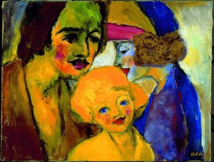 Emil Nolde: Portret rodziny