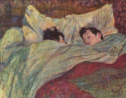 Henri de Toulouse-Lautrec: Śpiący