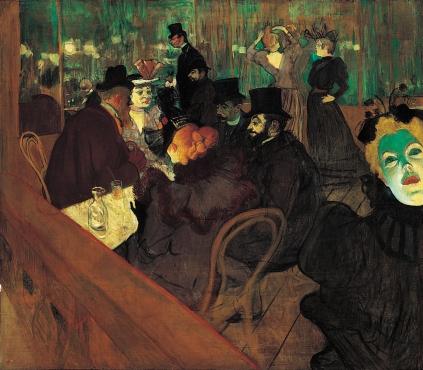Henri de Toulouse-Lautrec: W Moulin Rouge