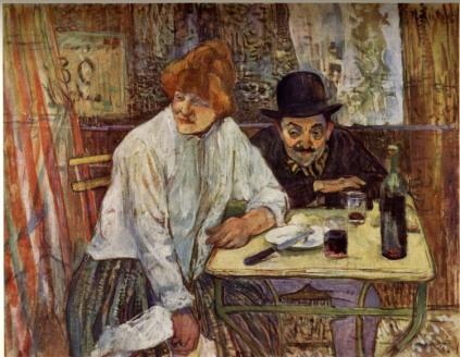 Henri de Toulouse-Lautrec: Przy stole