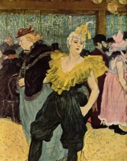 Henri de Toulouse-Lautrec: La Clownesse Cha-U-Ka-O