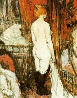 Henri de Toulouse-Lautrec: Kobieta przed lustrem