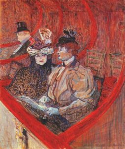 Henri de Toulouse-Lautrec: Loża w teatrze