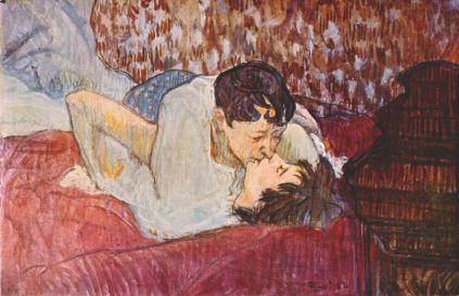 Henri de Toulouse-Lautrec: Pocałunek