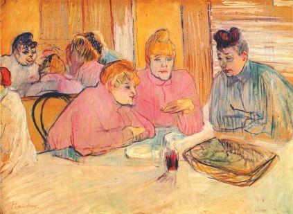 Henri de Toulouse-Lautrec: Kobiety w jadalni